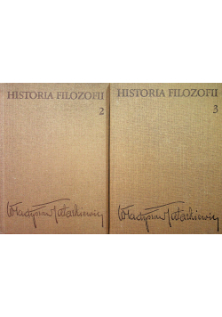 Historia filozofii Tom 2 i 3