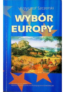 Wybór Europy
