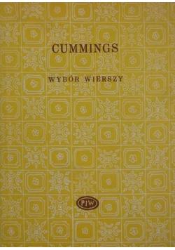 Cummings Wybór wierszy