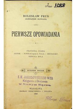 Prus Pierwsze opowiadania 1896 r.