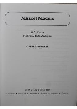 Market models