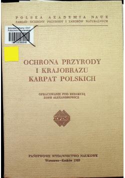 Ochrona przyrody i krajobrazu Karpat Polskich