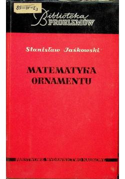 Matematyka ornamentu