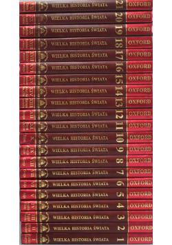 Wielka historia świata 21 tomów