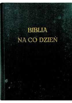 Biblia na co dzień