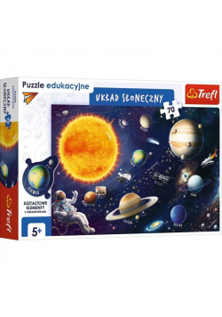 Puzzle Edukacyjne 70 Układ Słoneczny TREFL