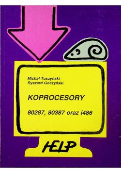Koprocesory 80287 80387 oraz i486