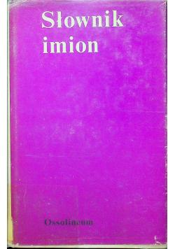 Słownik imion