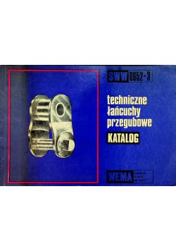 Techniczne łańcuchy przegubowe katalog