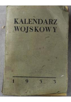 Kalendarz wojskowy 1933 r.