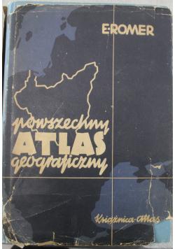 Powszechny atlas geograficzny 1934r