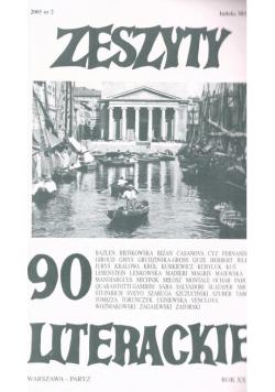Zeszyty literackie 90 2/2005