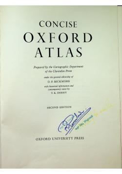 Concise Oxford Atlas