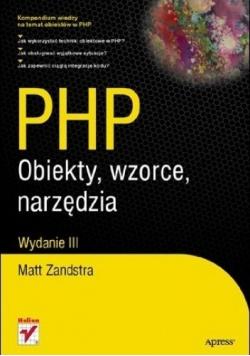 PHP Obiekty wzorce narzędzia