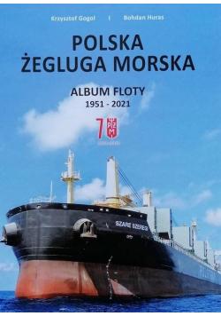 Polska Żegluga Morska. Album Floty 1951-2021