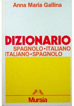 Dizionario Spagnolo Italiano Italiano Spagnolo