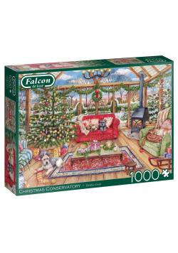 Puzzle 1000 Falcon Świąteczna oranżeria G3