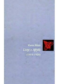 Listy z Afryki 1914 1924