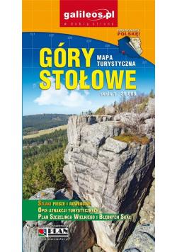 Mapa - Góry Stołowe 1:30 000