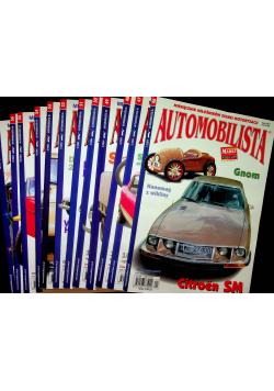 Automobilista miesięcznik miłośników starej motoryzacji 12 numerów