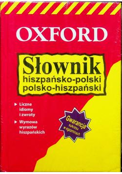 Słownik hiszpańsko polski plus rozmówki polsko hiszpańskie