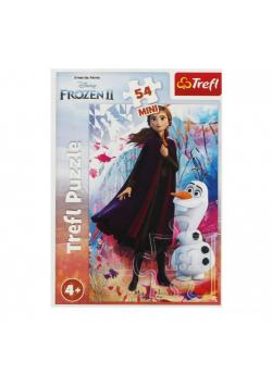 Puzzle 54 mini W świecie Anny i Elsy 1 TREFL