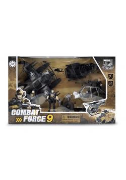 Zestaw wojskowy z autem bojowym