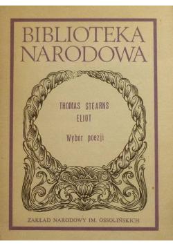 Thomas Stearns Eliot Wybór poezji