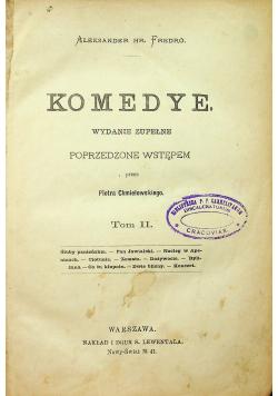 Komedye  Tom II 1898 R.