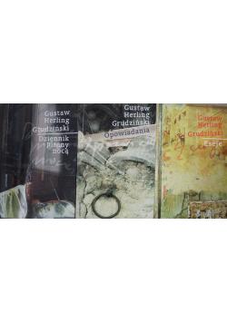 Grudziński Pisma wybrane 3 tomy