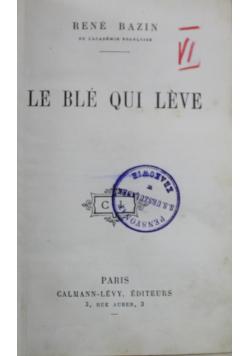Le ble qui leve ok 1907 r.
