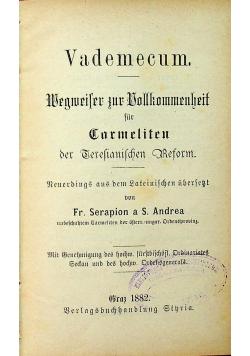 Vademecum Wegweiser zur Vollkommenheit 1882 r
