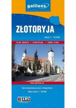 Plan miasta - Złotoryja/Powiat Złotoryjski 1:8 000