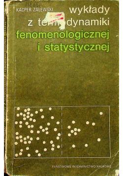 Wykład z termodynamiki fenomologicznej