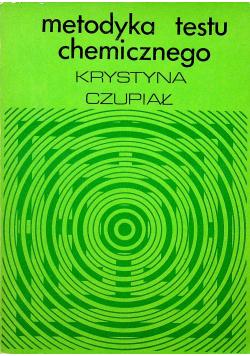 Metodyka testu chemicznego
