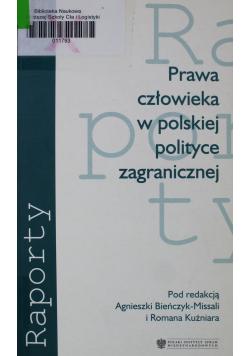 Prawa człowieka w polskiej polityce zagranicznej