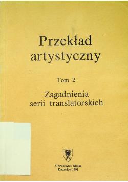 Przekład artystyczny Tom II