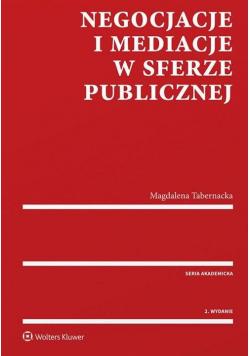 Negocjacje i mediacje w sferze publicznej w.2