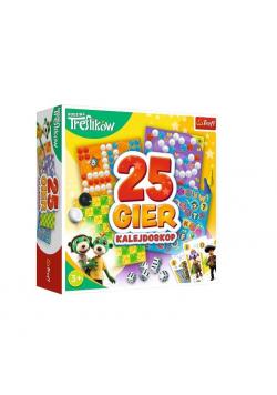Kalejdoskop 25 gier Rodzina Treflików TREFL