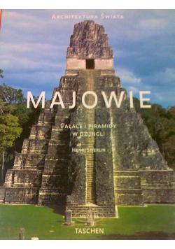 Majowie pałace i piramidy w dżungli