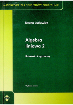 Algebra liniowa 2