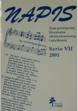 Napis Seria VII 2001