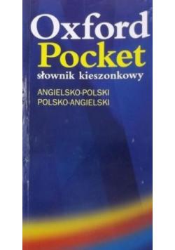 Oxford Pocket słownik kieszonkowy angielsko polski polsko angielski