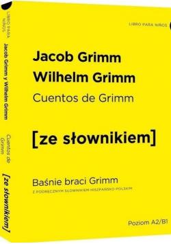 Baśnie braci Grimm w.hiszpańska + słownik