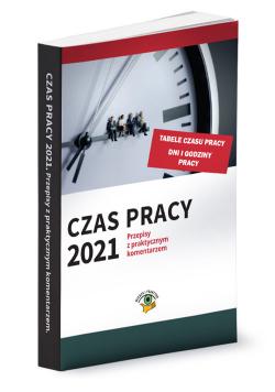 Czas pracy 2021 r.