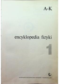 Encyklopedia fizyki tom 1
