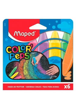 Kreda chodnikowa Colorpeps 6 kolorów