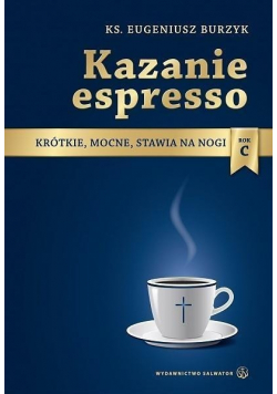 Kazanie espresso  rok C