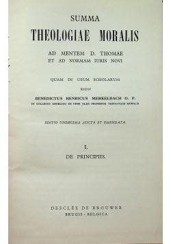 Summa theologiae moralis I