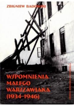 Wspomnienia małego warszawiaka (1934-1946)